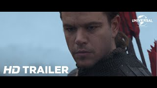 The Great Wall - Official Trailer 1 (Universal Pictures) HD
