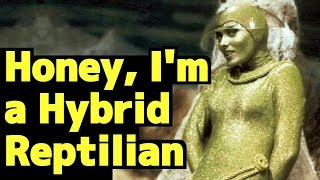 Honey, I'm A Hybrid Reptilian - shocking story of Jeffrey Alan Lash