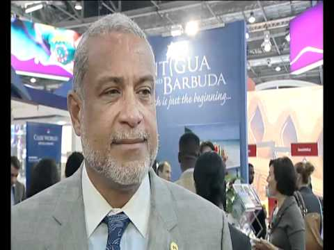 John Maginley (Hon.) MP, Minister of Tourism, Civil Aviation & Culture, Antigua & Barbuda