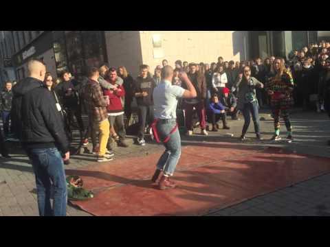 Танцевальный батл на Крещатике 26.03.16
