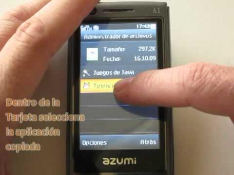 Azumi A1: tutorial para instalar aplicaciones Java