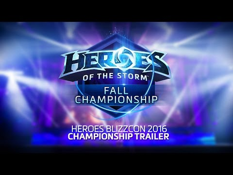 Heroes BlizzCon 2016 Fall Championship Trailer