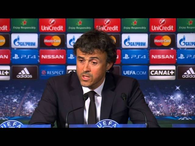 Luis Enrique delighted with 'spectacular' all-round performance