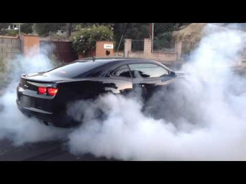 2010 Camaro SS Burnout