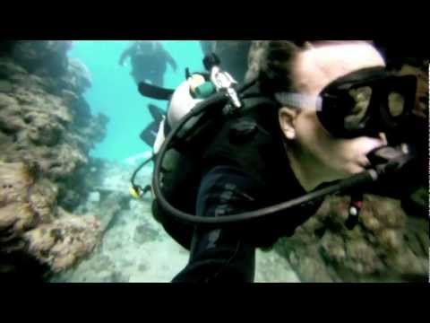 Men versus Wild- Great Barrier Reef Scuba Dive Trip