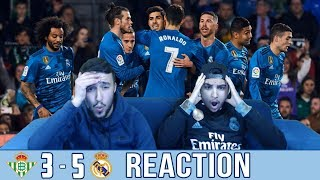 Real Madrid & Betis set up a GOAL SHOW! | Betis 3-5 Madrid Reaction |