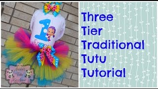 HOW TO: Make a Three Tier Traditional Tutu Tutorial