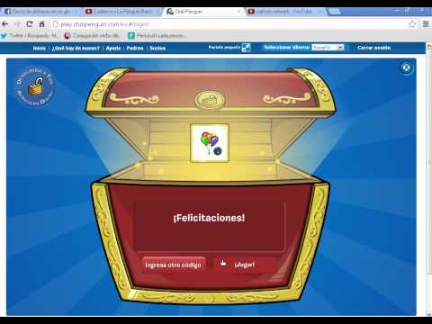 club penguin codigo reutilizable 2012 (globos)HD en español by pedrtio lagardo