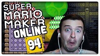 SUPER MARIO MAKER ONLINE Part 94: Tischtennis in Mario Maker