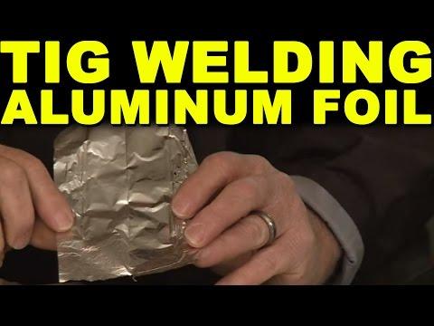 TIG Welding Aluminum Foil