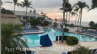 Key West,Florida Beach to Town