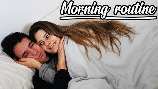 MORNING ROUTINE DE COUPLE !