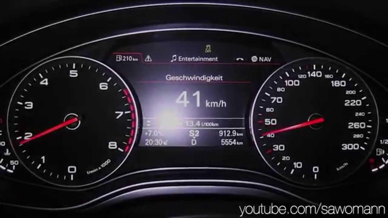 2014 Audi A6 Avant 3.0 TFSI quattro 310 HP 0-100 km/h & 0 ...