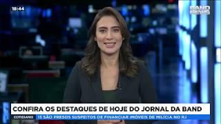 Veja os destaques do Jornal da Band desta terça-feira, 16