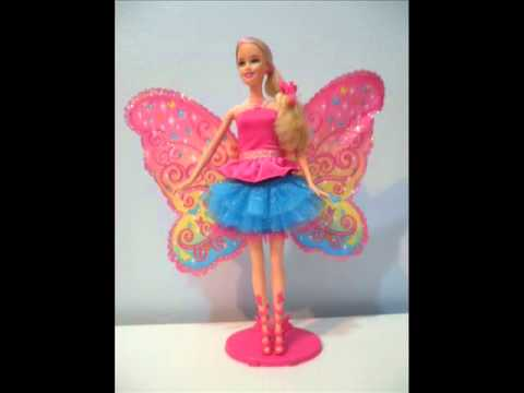Barbie Photo Fashion Doll Video Barbie fairy secret doll