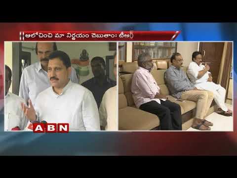 TDP MPs meet TRS MP Kesav Rao, Jithender seeks support on no-confidence motion against NDA
