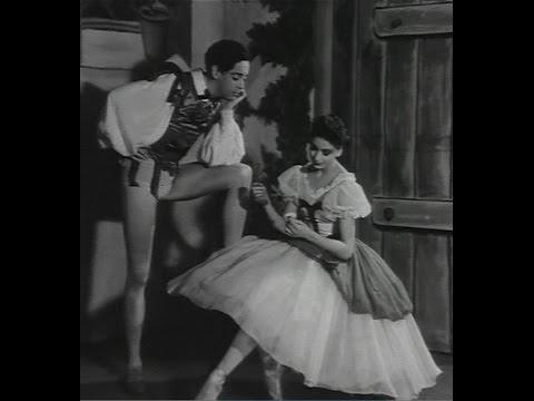 Margot Fonteyn and Helpmann Act 1 Pas De Deux 'Giselle' (1937)