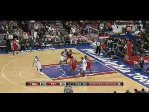 Allen Iverson 20pts vs Rockets 09/10 NBA *Vote AI for 2010 NBA All-Star
