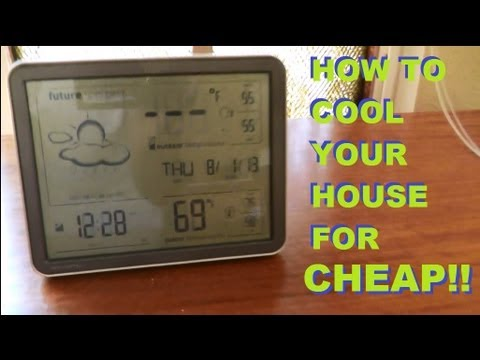 How To Cool Your House For 42 Cents A Day Without A C