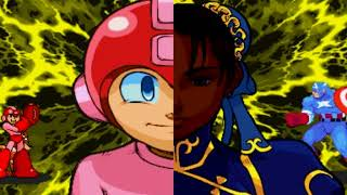 Marvel vs. Capcom: Clash of Super Heroes_MEGAMEN-SHADOW LADY GAMEPLAY