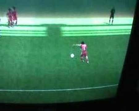 EA FIFA Football 2003 incredibile goal su punizione