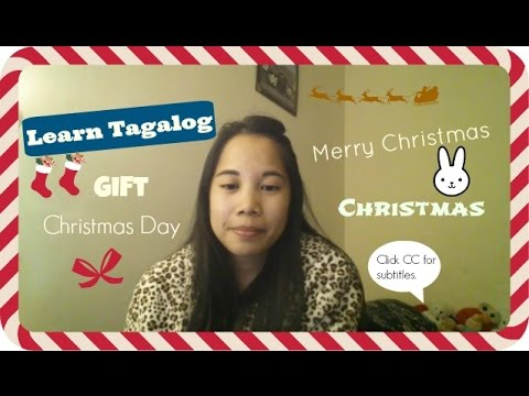 Learn Tagalog: Christmas Words and Phrases!