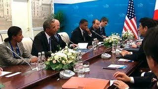 President Obama's Bilateral Meeting with Prime Minister Abe of Japan  9/5/13