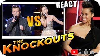 Download Lagu ALICIA KEYS TEAM - The Voice 2018 KNOCKOUTS - Britton Buchanan vs Dallas Caroline Gratis STAFABAND