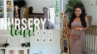 Baby Boy Nursery Tour   Jungle Theme!