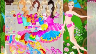 Dress Up Games  Celebrities  Barbie  Fairy Barbie Dress Up Game