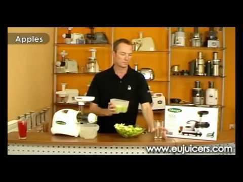 Rewelacyjna wyciskarka do soków z warzyw i owoców Omega 8006/8004 - CZĘŚĆ 1 z 2