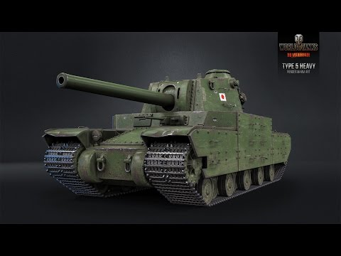 Type 5 Heavy Танк-кактус-Гайд