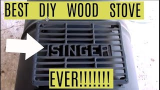 DIY $60 Wood Stove Improved... Best Stove Ever!!!