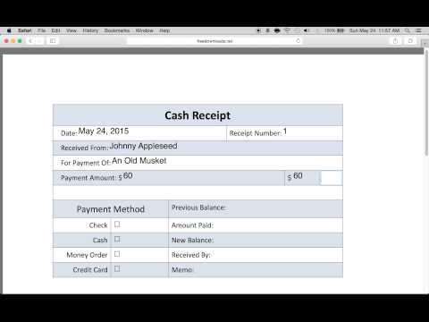 Download Petty Cash Sales Receipt Template | PDF | RTF | Word |  FreeDownloads.net  How To Write A Cash Receipt