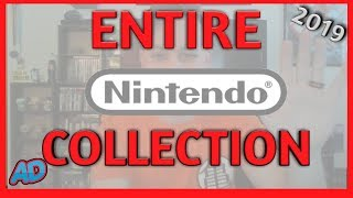 My ENTIRE Nintendo Video Game Collection   2019