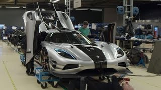 Preparing the 1360hp One1 for its Debut  INSIDE KOENIGSEGG