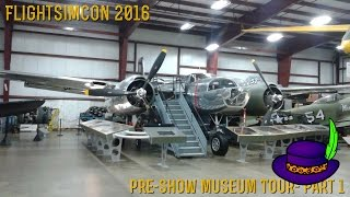 [FlightSimCon 2016] Museum Tour- Part 1