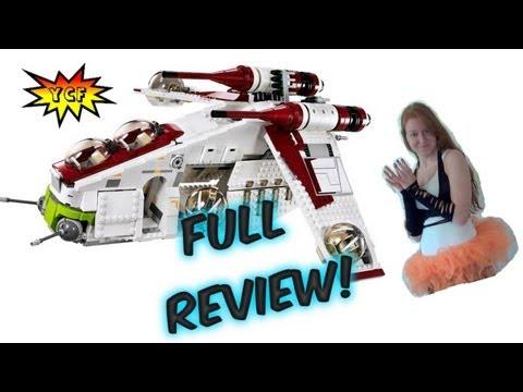 LEGO Star Wars Republic Gunship 75021 Review