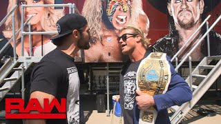 Dolph Ziggler interrupts Seth Rollins' interview: Raw Exclusive, July 2, 2018