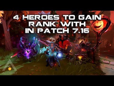 Dota 2: 4 Heroes to Gain MMR with in Patch 7.16 | Pro Dota 2 Guides