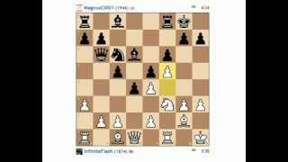 1.f4, 1..f5 opening blitz games