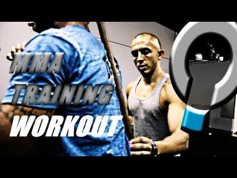 MMA Training- Strength and Conditioning with UFC Fighter Jeremy Stephens Image 1