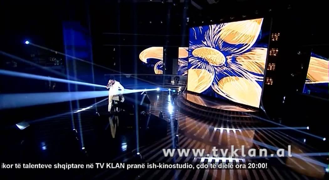 Alban Skenderaj - X Factor Albania 2 - Live Show - YouTube
