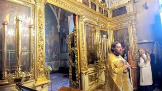 20.10.2020.  Николо-Кузнецкий храм.