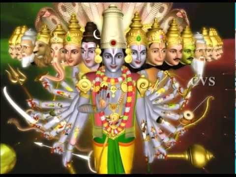 Srinivasa Govinda 5 -Sri Venkatesam Sri Srinivasam Manasa Smarami  3D Animation Vishnu Bhajan Songs