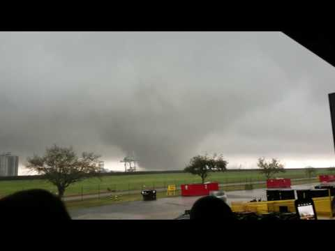 Tornado over Michoud