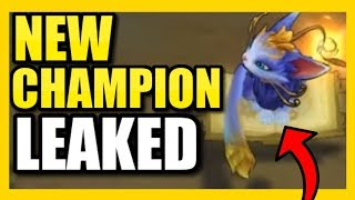 "NEW CHAMPION ""YUUMI"" LEAKED!  ABILITIES REVEAL AND FIRST LOOK AT IN-GAME! 