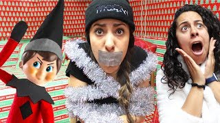 We got a BAD ELF ON A SHELF  *It PRANKED us and Kidnapped Our Sister!*
