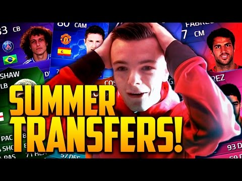 FIFA 14 - MOST EXPENSIVE SUMMER SIGNINGS!