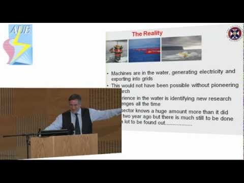The Development of Marine Renewable Energy in Scotland